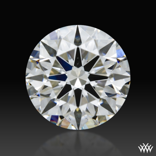 0.718 ct F VS2 A CUT ABOVE® Hearts and Arrows Super Ideal Round Cut Loose Diamond