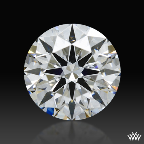 0.905 ct E SI1 A CUT ABOVE® Hearts and Arrows Super Ideal Round Cut Loose Diamond