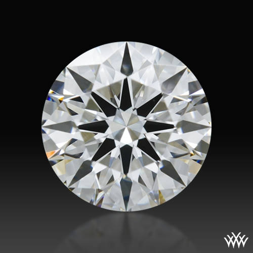 0.912 ct F IF A CUT ABOVE® Hearts and Arrows Super Ideal Round Cut Loose Diamond