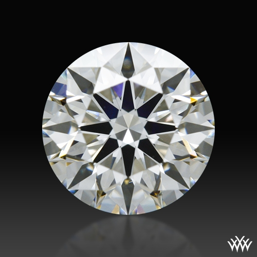 0.908 ct H VS2 A CUT ABOVE® Hearts and Arrows Super Ideal Round Cut Loose Diamond