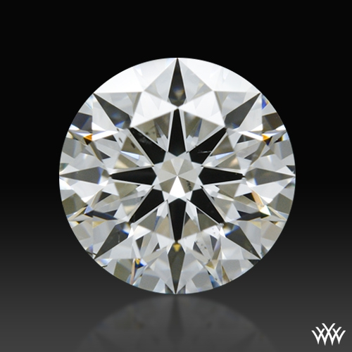 1.121 ct G SI1 A CUT ABOVE® Hearts and Arrows Super Ideal Round Cut Loose Diamond