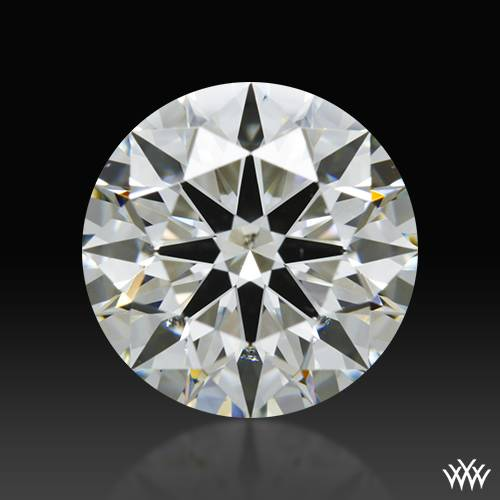 1.61 ct I SI1 A CUT ABOVE® Hearts and Arrows Super Ideal Round Cut Loose Diamond
