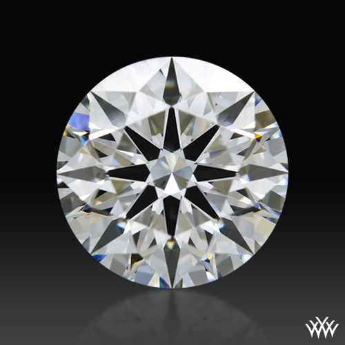 1.213 ct G VS2 A CUT ABOVE® Hearts and Arrows Super Ideal Round Cut Loose Diamond