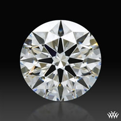 0.885 ct F VS2 A CUT ABOVE® Hearts and Arrows Super Ideal Round Cut Loose Diamond