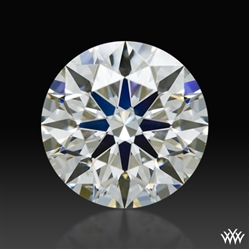 0.891 ct I VS2 A CUT ABOVE® Hearts and Arrows Super Ideal Round Cut Loose Diamond