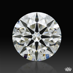 0.891 ct H SI1 A CUT ABOVE® Hearts and Arrows Super Ideal Round Cut Loose Diamond