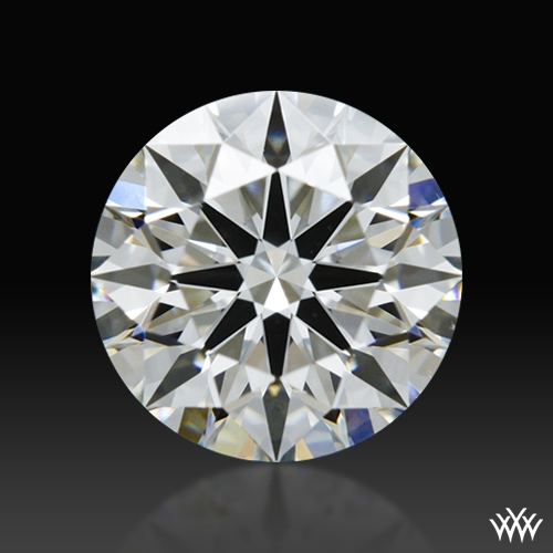 0.894 ct H SI1 A CUT ABOVE® Hearts and Arrows Super Ideal Round Cut Loose Diamond