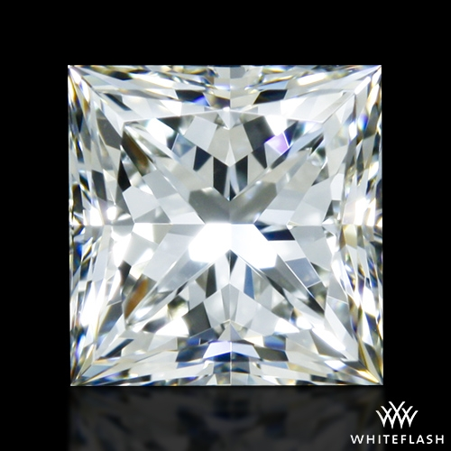 0.918 ct I VVS2 A CUT ABOVE® Princess Super Ideal Cut Diamond