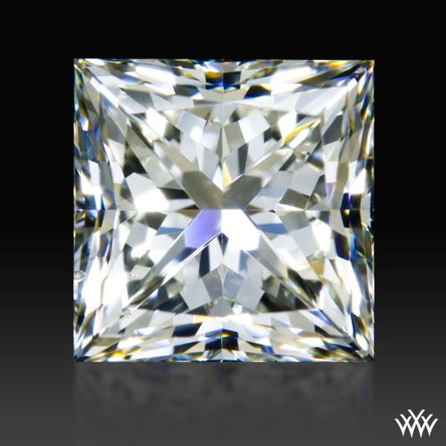 1.307 ct J SI1 A CUT ABOVE® Princess Super Ideal Cut Diamond