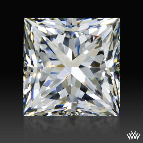 0.798 ct F VVS2 A CUT ABOVE® Princess Super Ideal Cut Diamond