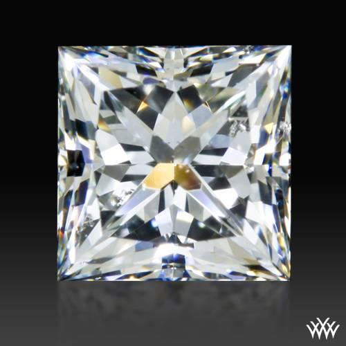 0.68 ct H SI1 A CUT ABOVE® Princess Super Ideal Cut Diamond