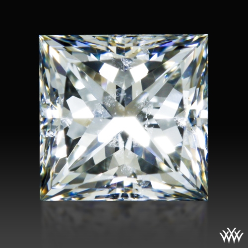 0.728 ct J SI2 A CUT ABOVE® Princess Super Ideal Cut Diamond