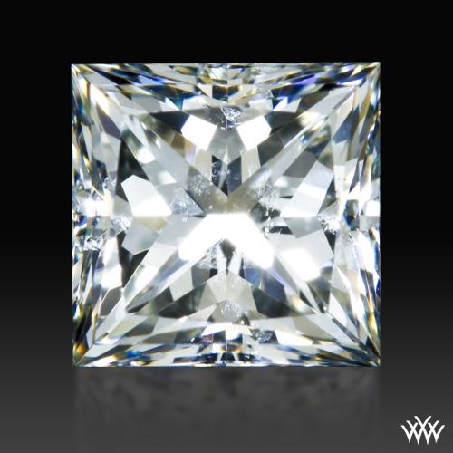 0.728 ct J SI2 A CUT ABOVE® Princess Super Ideal Cut Diamond