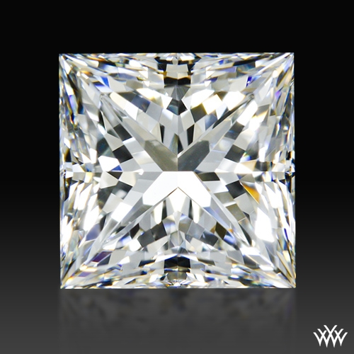 1.504 ct G SI1 A CUT ABOVE® Princess Super Ideal Cut Diamond