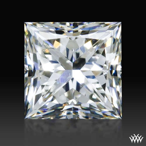0.837 ct J VS1 A CUT ABOVE® Princess Super Ideal Cut Diamond