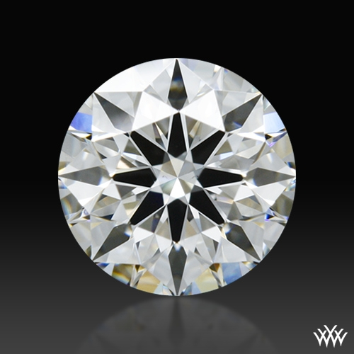 0.802 ct F VS2 A CUT ABOVE® Hearts and Arrows Super Ideal Round Cut Loose Diamond