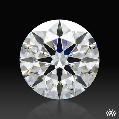 0.702 ct D VS2 A CUT ABOVE® Hearts and Arrows Super Ideal Round Cut Loose Diamond