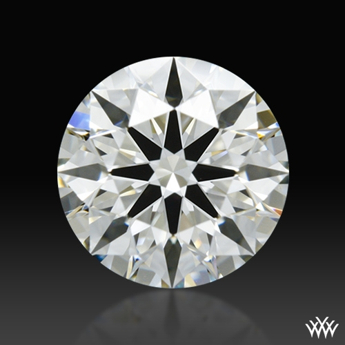 0.797 ct I VS2 A CUT ABOVE® Hearts and Arrows Super Ideal Round Cut Loose Diamond