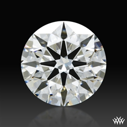 0.652 ct F VS1 A CUT ABOVE® Hearts and Arrows Super Ideal Round Cut Loose Diamond