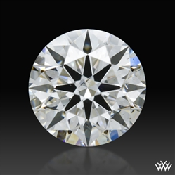 0.597 ct F SI1 A CUT ABOVE® Hearts and Arrows Super Ideal Round Cut Loose Diamond