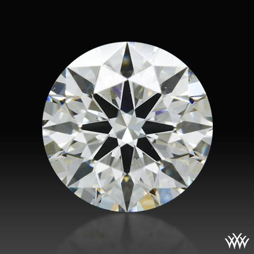 0.583 ct H VS2 A CUT ABOVE® Hearts and Arrows Super Ideal Round Cut Loose Diamond