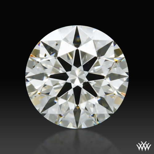 0.525 ct J SI1 A CUT ABOVE® Hearts and Arrows Super Ideal Round Cut Loose Diamond