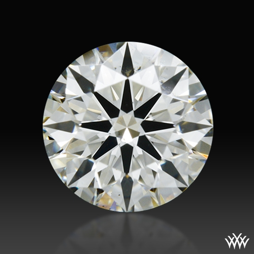 0.516 ct J SI1 A CUT ABOVE® Hearts and Arrows Super Ideal Round Cut Loose Diamond