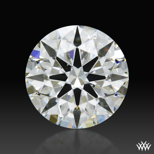 0.503 ct H SI1 A CUT ABOVE® Hearts and Arrows Super Ideal Round Cut Loose Diamond