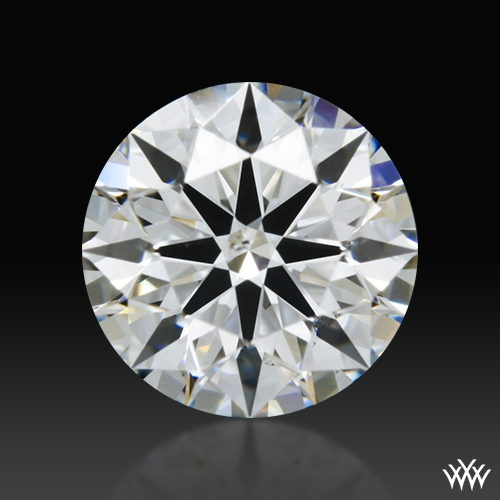0.474 ct F SI1 A CUT ABOVE® Hearts and Arrows Super Ideal Round Cut Loose Diamond