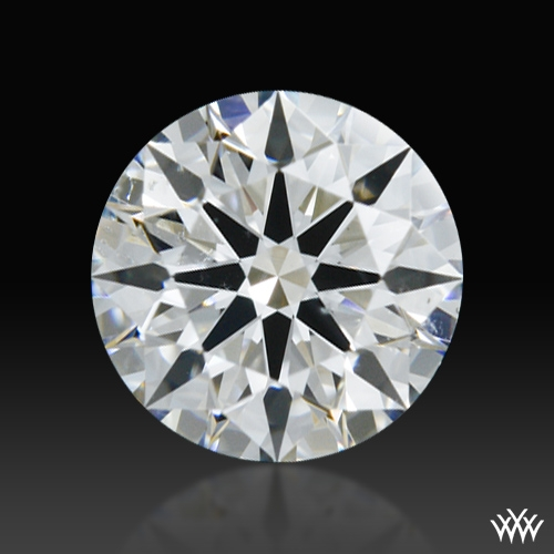 0.457 ct F SI1 A CUT ABOVE® Hearts and Arrows Super Ideal Round Cut Loose Diamond