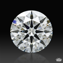 0.446 ct G SI1 A CUT ABOVE® Hearts and Arrows Super Ideal Round Cut Loose Diamond