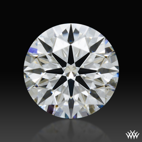 0.348 ct F VS2 A CUT ABOVE® Hearts and Arrows Super Ideal Round Cut Loose Diamond