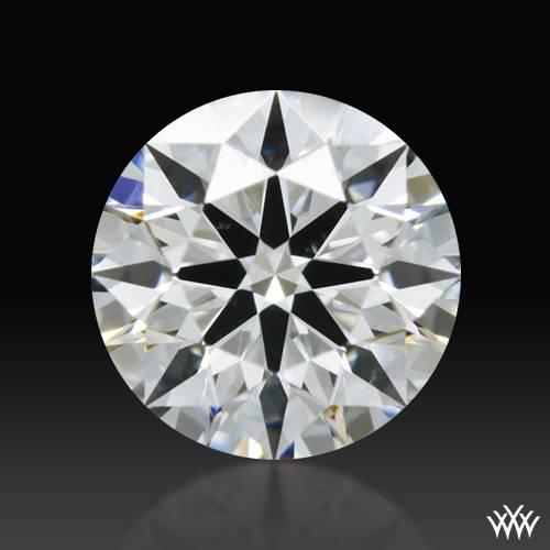 0.347 ct F VS2 A CUT ABOVE® Hearts and Arrows Super Ideal Round Cut Loose Diamond