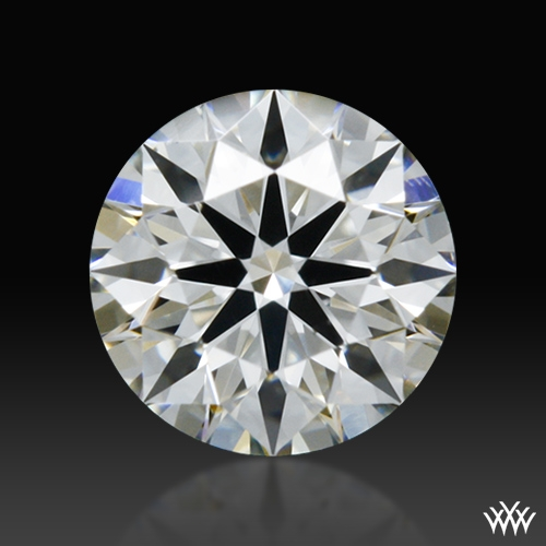 0.368 ct H VS2 A CUT ABOVE® Hearts and Arrows Super Ideal Round Cut Loose Diamond
