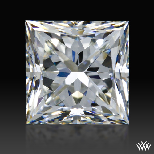 0.81 ct I VVS1 A CUT ABOVE® Princess Super Ideal Cut Diamond