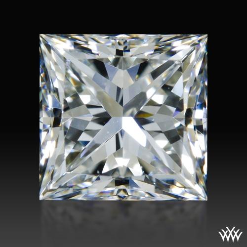 0.898 ct G VS2 A CUT ABOVE® Princess Super Ideal Cut Diamond