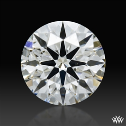 0.346 ct G SI1 A CUT ABOVE® Hearts and Arrows Super Ideal Round Cut Loose Diamond