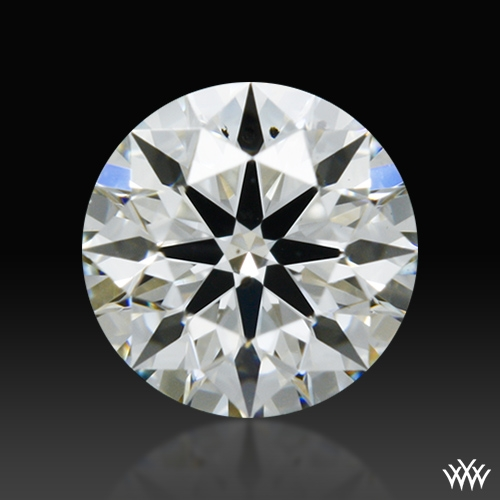 0.336 ct I SI1 A CUT ABOVE® Hearts and Arrows Super Ideal Round Cut Loose Diamond