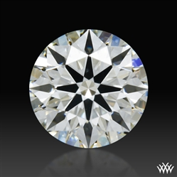 0.364 ct I VS2 A CUT ABOVE® Hearts and Arrows Super Ideal Round Cut Loose Diamond