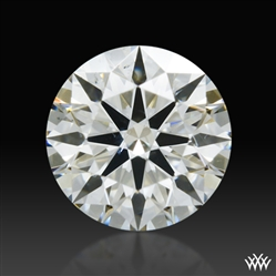 0.344 ct K SI1 A CUT ABOVE® Hearts and Arrows Super Ideal Round Cut Loose Diamond