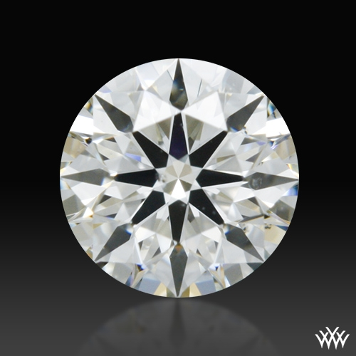 0.317 ct I SI1 A CUT ABOVE® Hearts and Arrows Super Ideal Round Cut Loose Diamond
