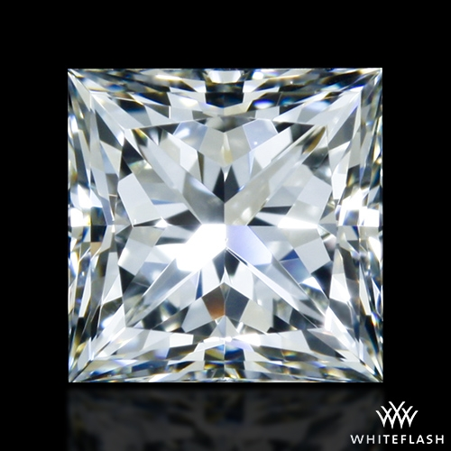 0.917 ct I VS1 A CUT ABOVE® Princess Super Ideal Cut Diamond
