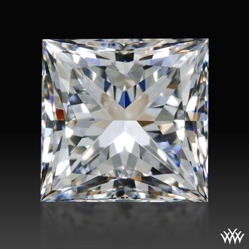 0.775 ct F VS2 A CUT ABOVE® Princess Super Ideal Cut Diamond
