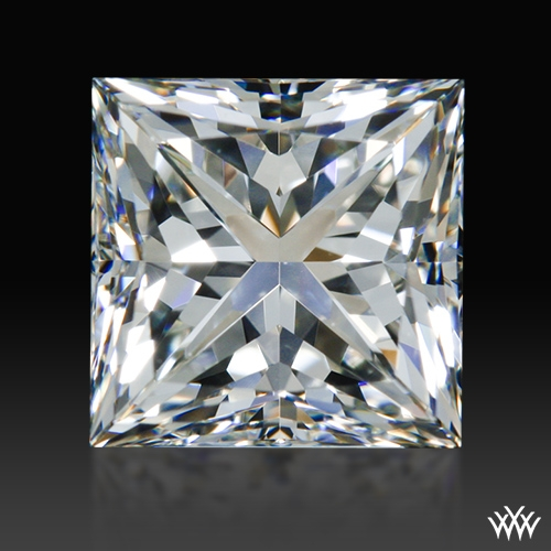 1.517 ct I VS2 A CUT ABOVE® Princess Super Ideal Cut Diamond