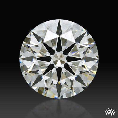 1.284 ct I VS2 A CUT ABOVE® Hearts and Arrows Super Ideal Round Cut Loose Diamond