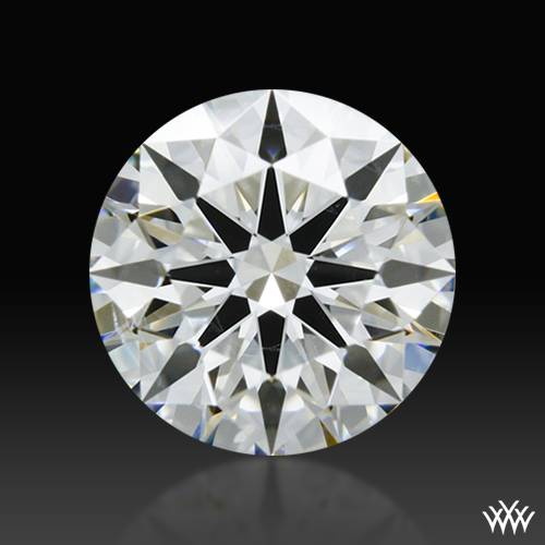 1.176 ct H SI1 A CUT ABOVE® Hearts and Arrows Super Ideal Round Cut Loose Diamond