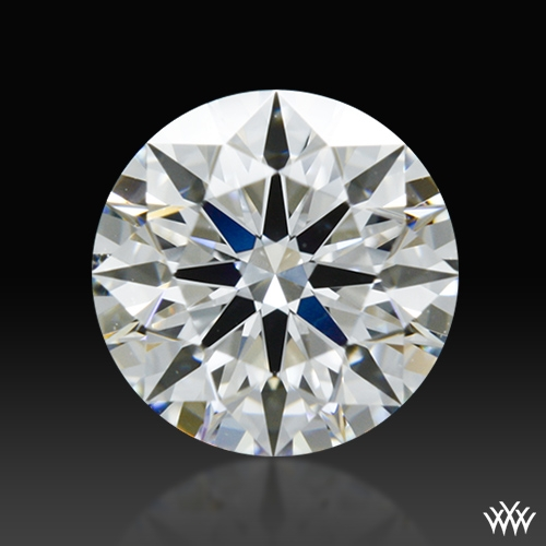 0.756 ct G VS1 A CUT ABOVE® Hearts and Arrows Super Ideal Round Cut Loose Diamond