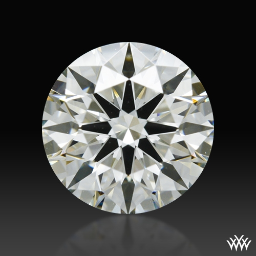 0.851 ct K VS2 A CUT ABOVE® Hearts and Arrows Super Ideal Round Cut Loose Diamond
