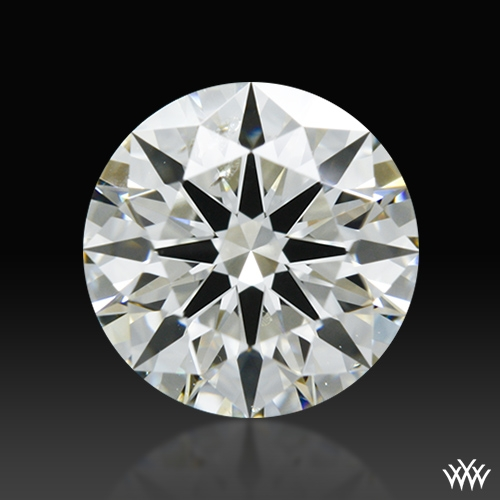 0.945 ct K SI1 A CUT ABOVE® Hearts and Arrows Super Ideal Round Cut Loose Diamond