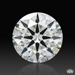 0.651 ct F VS2 A CUT ABOVE® Hearts and Arrows Super Ideal Round Cut Loose Diamond